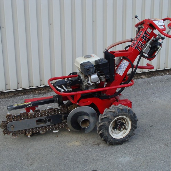 Trencher, 18″ Hydraulic Drive Image