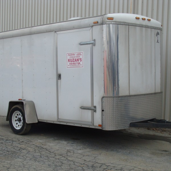 Trailer, Utility Enclosed Image