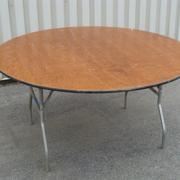 Table, Round Folding 60″ Image