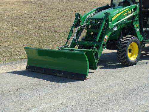 Loader/ Snow Blade for John Deere 4066R Image