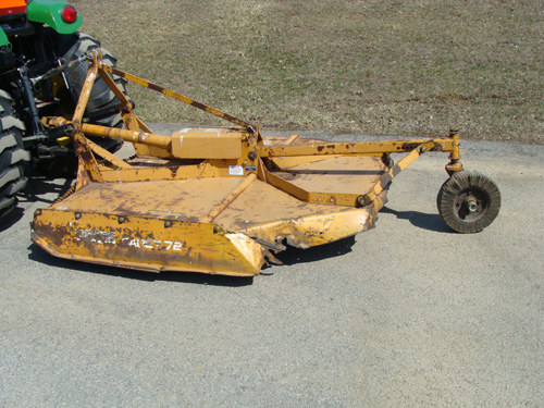 Mower Brush Hog 6′ 3pt Image