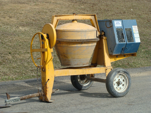 Mixer, Concrete Towable 6 CF Image