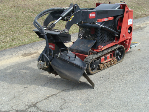 Skidsteer, Mini Dingo Attachment Stump Grinder Image