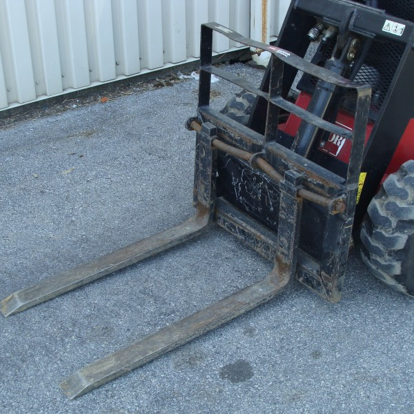 Skidsteer, Mini Dingo Attachment Forks Image