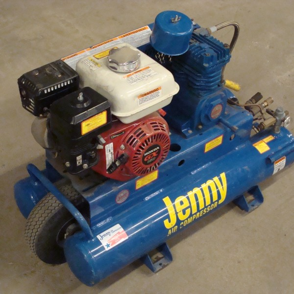 Compressor, Gas 8 Gallon Image