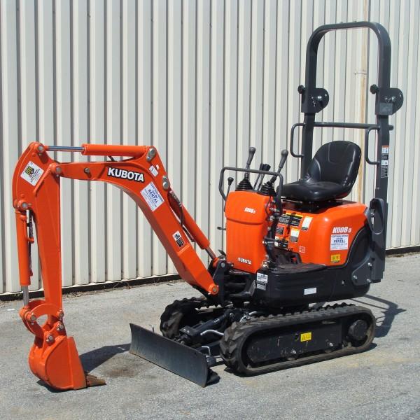 Excavator Mini 1A K008 Image