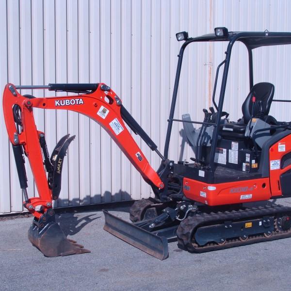 Excavator Mini 2 KX018 Image