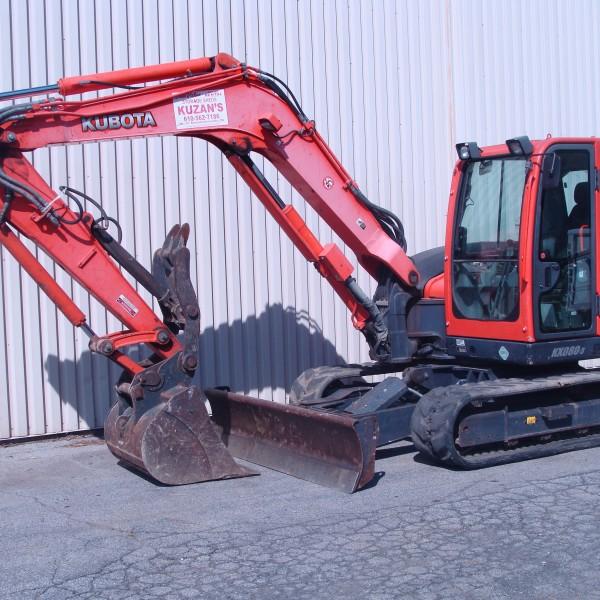 Excavator Mini, 4 KX080 Image